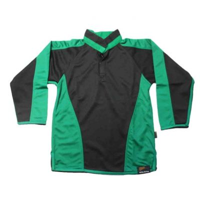 Roundhay Blk/Emerald Reversible Rugby Jersey