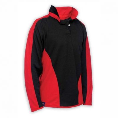 Lawnswood Black/Red Rugby Jersey