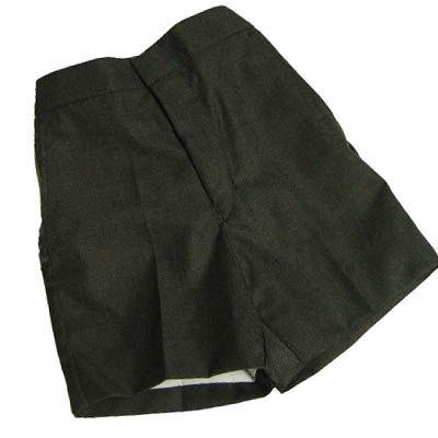 Gateways Boys Flat Front Classic Grey Shorts (Summer)