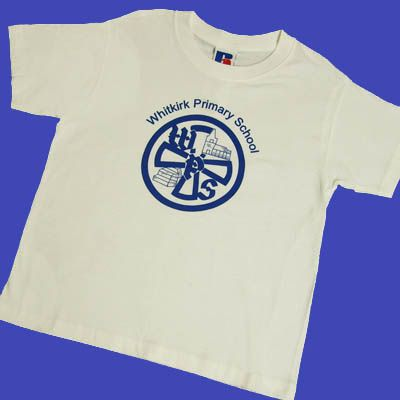 Whitkirk White Games T-Shirt w/Logo