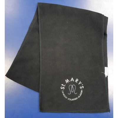 St Marys Horsforth Navy Fleece Scarf w/Logo