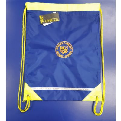 St Paul's Gym Bag w/Logo