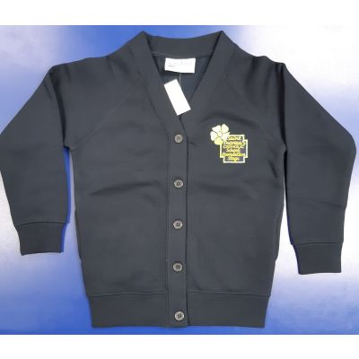 Saint Theresa's Foundation Stage Navy Cardigan w/Logo